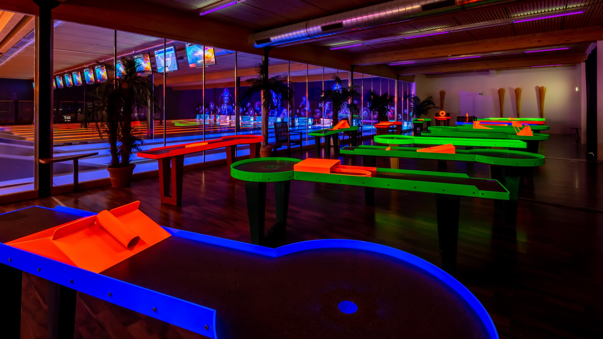 Bar des FUN BOWL Stockmatt